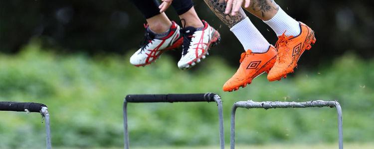 Haie de vélocité, exercice explosivité football