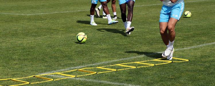 Echelle de rythme, exercice explosivité football