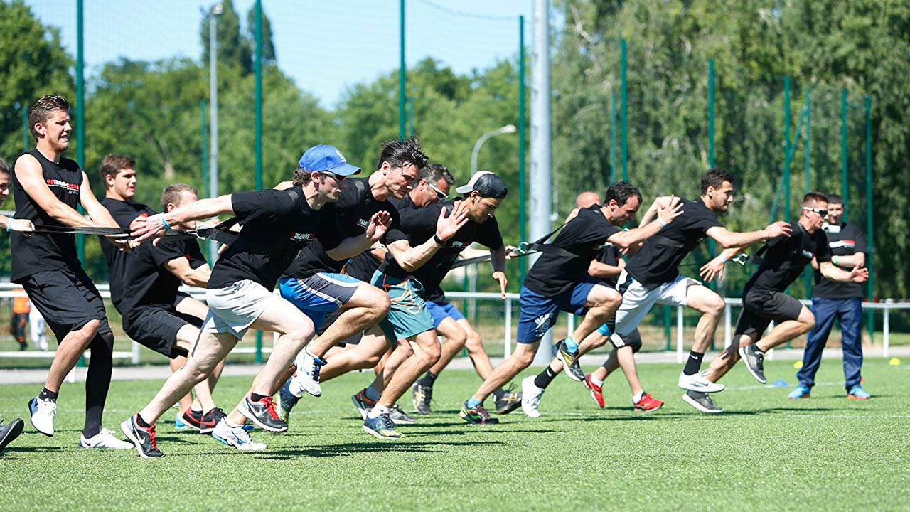 Exercice explosivité football