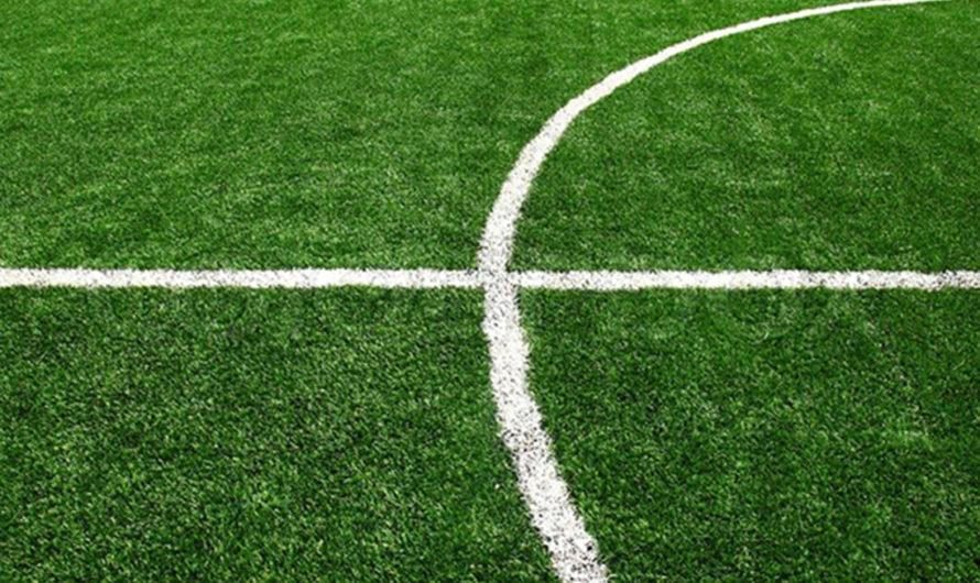 Comment tracer un terrain de foot ?