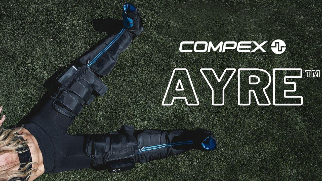 Compex Ayre. Compression pour une performance totale