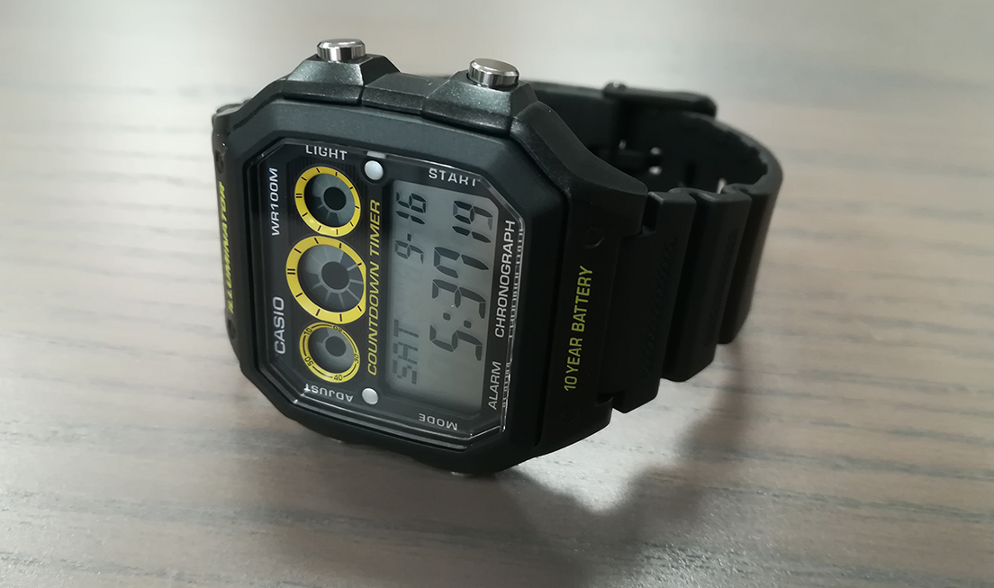 Montre Casio Illuminator, notice et mode d'utilisation